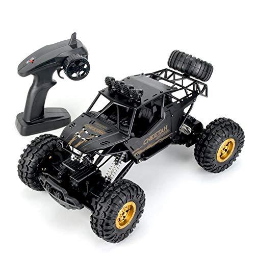 RC Auto, 1: 12 Offroad Elektro Rock Crawler Truck, 2,4 GHz Funkfernsteuerung Auto 4WD High Speed   Racing Geburtstagsgeschenk für Jungen Kinder (schwarz)