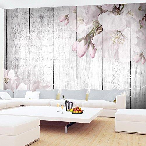 Fototapete Blumen Grau Vlies Wand Tapete Wohnzimmer Schlafzimmer Büro Flur  Dekoration Wandbilder XXL Moderne Wanddeko Flower 100% MADE IN GERMANY – ...