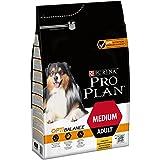 Pro Plan Dog Medium Adult Hund, Huhn und mit Reis, Trockenfutter, 1er Pack (1 x 3 kg) Beutel