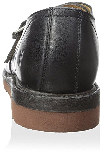 FRYE Mens Black Jim Oxford Wedge Monkstrap 1zxZTqYwz