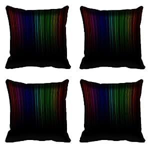 meSleep Plain Digital Printed Cushion Cover 16x16