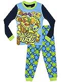 Teenage Mutant Ninja Turtles Jungen Half Shell Heroes Schlafanzug - Slim Fit - 110