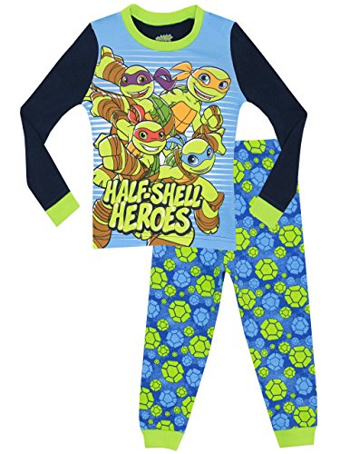 Teenage Mutant Ninja Turtles Jungen Half Shell Heroes Schlafanzug - Slim Fit - ()