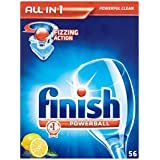 Terminer All in 1 Powerball Lave-vaisselle comprimés Lemon (56) - Paquet de 6