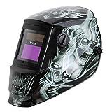 Antros ah6 - 260-6218 energía Solar casco con modo careta de seguridad para soldar AntFi X60-2 Extra anchos para hombre de pantalla 4/5-9/9-13 con fun