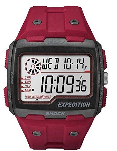 Timex Reloj Digital para Hombre de Cuarzo con Correa en Resina TW4B03900
