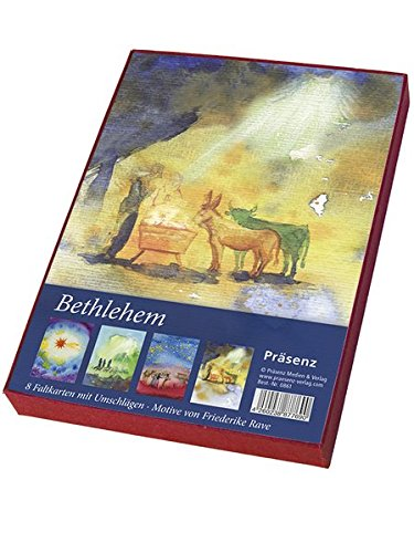 Bethlehem: 8 Faltkarten von Friederike Rave