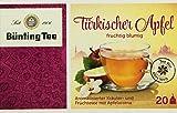 Bünting Tee Türkischer Apfel 20 x 2.75 g Beutel, 12er Pack (12 x 55 g)