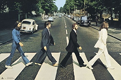 Grupo Erik editores gpe4791-The Beatles Abbey Road Poster, 61x 91.5cm