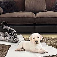 JohnJohnsen Camas Manta Gato del Perro del Auto Calefacción Cama para Mascotas térmica Manta Lavable Sin
