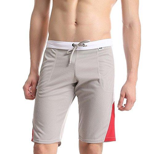 Preisvergleich Produktbild KAFEI Casual hose Herren atmungsaktiv Komfort sweat Hosen,  grau,  l