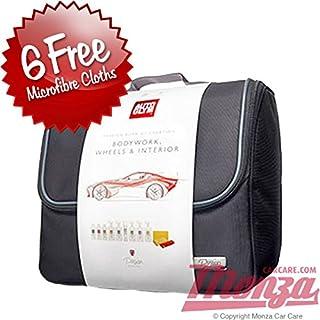- Autoglym, komplettes Reinigungskit für Karosserie, Räder und Innenraum, inklusive 6x Mikrofaser-Reinigungstüchern