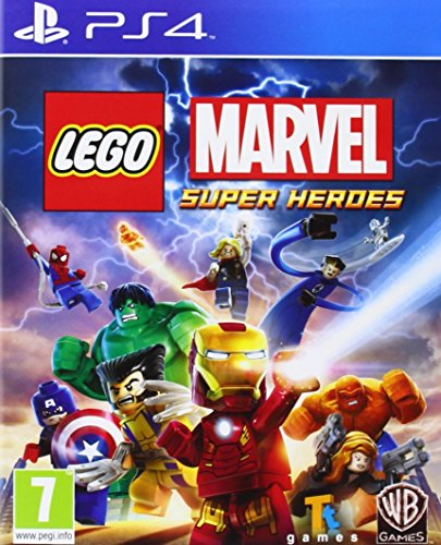 Ps4 Lego Marvel Super Heroes (Eu) (Ps4 Lego Hero)