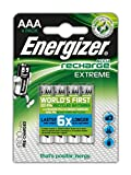 Energizer NimH-Akku Rechargeable Extreme Micro (1,2Volt 800mAh, vorgeladen 4er-Packung)