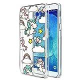 Eouine Coque Samsung Galaxy A3 2017, Etui en Silicone 3D Transparente avec Motif...