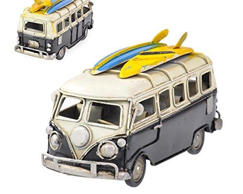 DSstyles-63-Inches-Retro-Camper-Van-Classic-T1-Van-Metal-Beach-Bus-Toy-Model-Black
