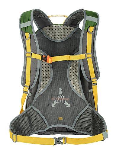 ZQ 40L L Rucksack Camping & Wandern Draußen Stoßfest / Multifunktions / Atmungsaktiv Grün / Rot / Blau Nylon / Terylen Tectop Red