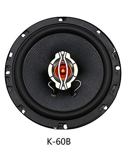LIDAUTO Dual-Kegel Auto Koaxial Horn Fahrzeug Auto Audio Musik Stereo HiFi Lautsprecher Nicht-destruktiv Installation 2 Stücke 4inch 5inch 6inch 100W 120W 180W,6in 100w Dual Cone