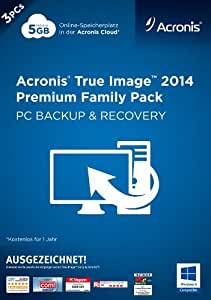 Acronis True Image 2014 Premium - 3PCs Family Pack [Download]