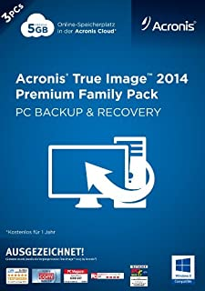 Acronis True Image 2014 Premium - 3PCs Family Pack [Download] (B00FKHASYG) | Amazon price tracker / tracking, Amazon price history charts, Amazon price watches, Amazon price drop alerts