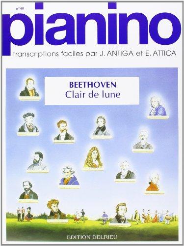 Clair de lune - Pianino 40