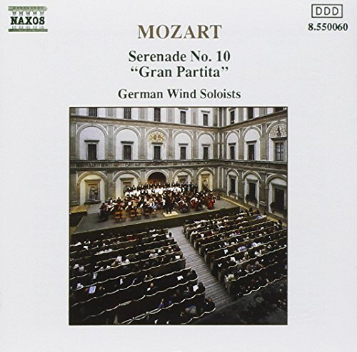 Mozart: Serenade No. 10 - Gran Partita by W.A. Mozart (1991-03-21)