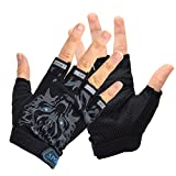 Children Cycling Gloves Ultra Thin Breathable Half Finger...