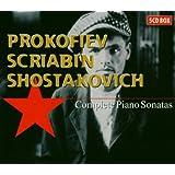 Prokofiev / Scriabine / Chostakovitch - Intégrale des sonates pour piano
