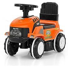 ROLLY - Tractor Correpasillos en 4 colores, coche para niños, vehículo correpasillos, coche
