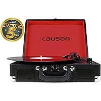 Lauson CL603 Tocadiscos Maletín, Bluetooth, USB, Salida RCA, Función Encoding 3 Velocidades