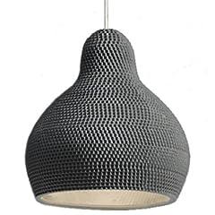 Idea Regalo - Industreal LAMPE 144DPI lampada a sospensione in porcellana nera