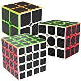 LSMY Speed Cubes 2x2x3 + 3x3x3 + 4x4x4, 3 Pack Puzzle Mágico Cubo...
