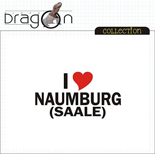 T-Shirt - i Love Naumburg (Saale) - Herren - unisex Weiß