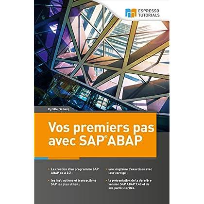 Vos premiers pas avec SAP ABAP