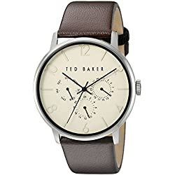 TED BAKER GENTS MULTI DIAL STRAP WATCH