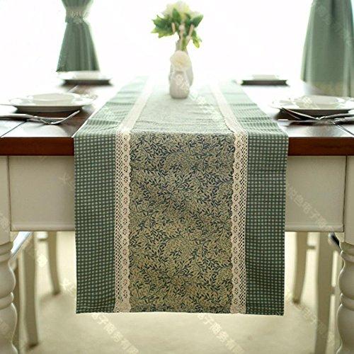 Preisvergleich Produktbild XXFFH Tischläufer Tischfahne Amerikanischen Land Minimalistisch Nähte Tischläufer 35*220Cm