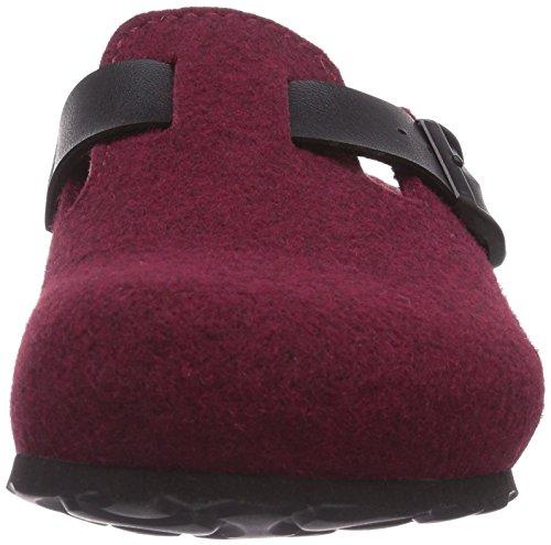 Betula ROCK, Unisex-Erwachsene Clogs Rot (Bordeaux)