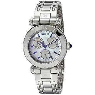 Invicta 24427 Subaqua  Reloj para Mujer acero inoxidable Cuarzo Esfera blanco