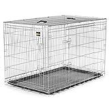 zoomundo XXL Cage Pliante en Métal avec 2 Portes pour Chien Cage Box de Transport...