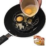 Anello di muffa dell'uovo del silicone, anello di uovo a forma di cranio nero, muffa del cranio