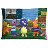 "16x24 16""x24"" 40x60cm floor pillow protector case Cotton - Polyester HIGH QUALITY Hidden slide The Backyardigans"