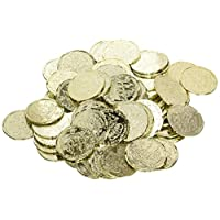 amscan International Favour Pirates Treasure Coins, Pack of 72