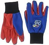 Forever Collectibles NCAA Arkansas Razorbacks 2015farbigen Palm Utility Handschuh, Unisex, Kansas 2015 Utility Glove - Colored Palm, Kansas Jayhawks