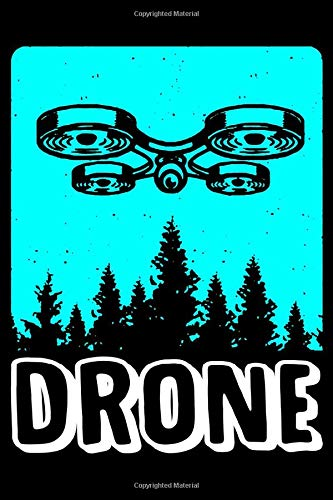 Drone: Notebook Journal Or Diary | 6x9 Lined | 120