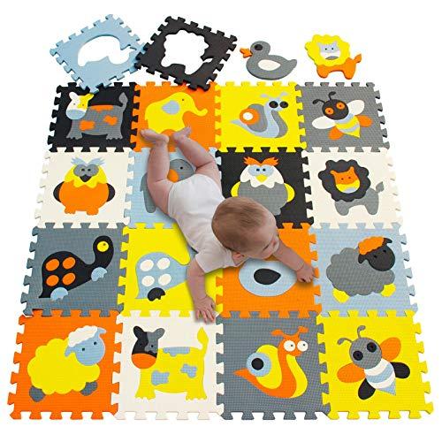 Meiqicool Alfombrillas Puzzles | Alfombra Puzzle Niños