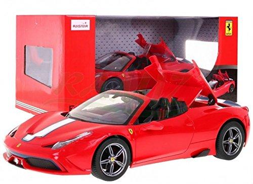 RASTAR RC Fahrzeug Ferngesteuertes Auto Ferrari 458 Speciale A 1:14 Rot