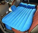 MLAURENT Camping-Bett mit Luft-Bett, Auto-Rücksitz-Auto-Luftmatratze, Luftmatratze mit Aufblasbares Bett (blau)