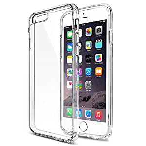 SAVFY® Coque iPhone 6S Etui Clair Ultra-Mince Silicone Gel Housse