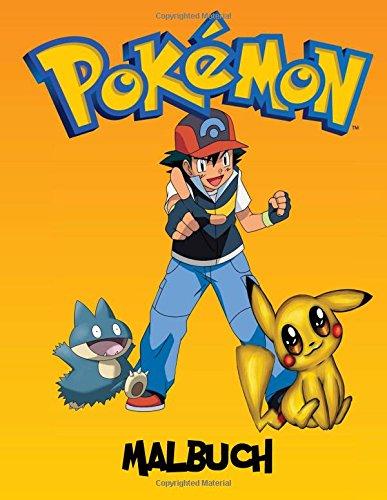 Pokemon Malbuch: Eine große Malbuch auf den Pokémon-Figuren. Es gibt derzeit 493  verschiedene...