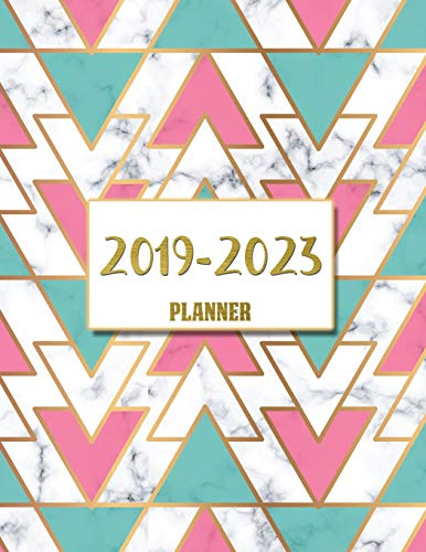 2019-2023 Planner: Agenda Planner For The Next Five Years, 60 Months Calendar,Monthly Schedule Organizer |Appointment Notebook, Monthly Planner, ... Passion Goal Setting (5 year planner, Band 2) -